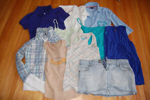 women's clothing lot guess, american eagle, esprit, tommy +
