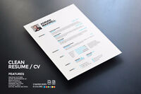 Will make you a professional resume  NO MORE HASSLE