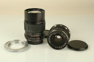 Tamron-F 135mm f2.8 and Pentacon 29mm f2.8 for Canon EOS