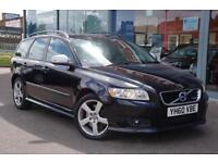 2010 VOLVO V50 T5 R DESIGN Geartronic Auto, NAV, F LTHER and VERY RARE 230 BHP