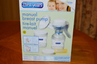First Years single manual & double electrical breast pumps