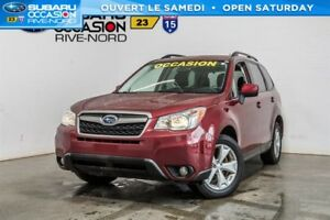 Subaru Forester Convenience MAGS+CAM.RECUL+SIEGES.CHAUFF 2015