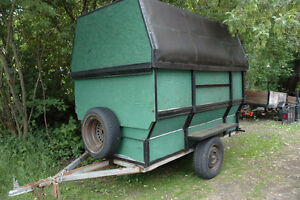 enclosed 4x8 trailer Peterborough Peterborough Area image 1