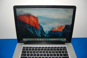 """Apple Macbook Pro """"Core 2 Duo"""" 2.4 15-inch Late 2008 with SSD"""