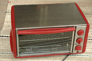 Hamilton Beach Toaster Over - Red and Stainless Steel
