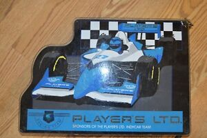 Players Indy car  sign