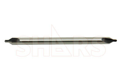 Shars 4 X 5 Long M2 60 Combined Drill Countersink Center Drill New