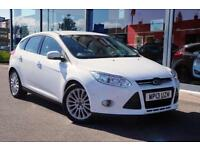2013 FORD FOCUS 1.6 TDCi 115 Titanium X GBP20 TAX, LTHER, XENONS and P ASSIST