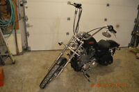 harley 2013  sporster 1200 HD mini ape 16 pouces