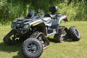 2011 Can-Am ATV with Tracks