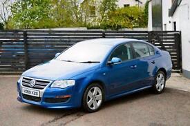 2009 VW PASSAT R LINE 140 TDI SALOON BISCAY BLUE FSH 2 KEYS (A4 320D)