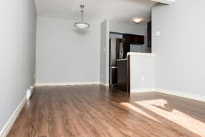 Two bedroom two storey condo west end