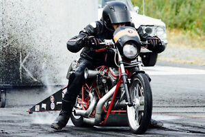 Harley drag bike