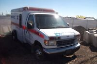 1996 Ford E-350 ambulance