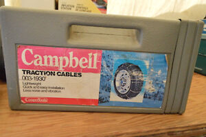 """Campbell Traction Cables for 13-15"""" Tires"""