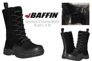 NEW Baffin Womens London Snow Boot Condtion: New, Black, 9 M US