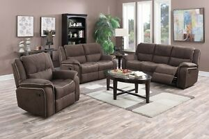 NEW ★ Recliner Microfiber Love seat ★ Can Deliver