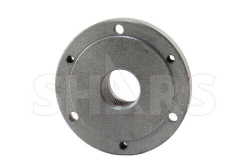 """5"""" Fully Machined Threaded Back Plate 1-1/2-8 For 3 or 4 Jaw Self Center Chuck A"""