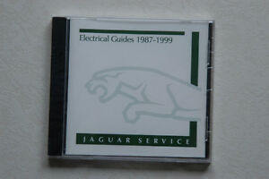 Jaguar OEM CD Electrical Guides 1987 to 1999 (Like New)