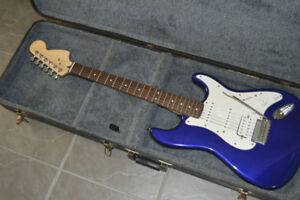 Partscaster Strat Electric Guitar & Fender G-DEC Amp
