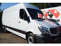 short notice Reliable Man & van hire £15/h removals service