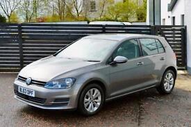 2014 VW GOLF MK7 1.6 TDI SE LIMESTONE GREY FVSH FOCUS A3