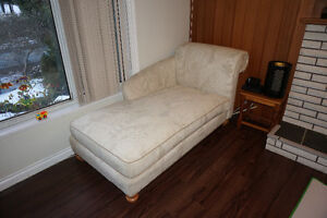 Great White Chaise Lounge for sale