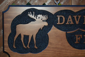 SIGNS WOOD ROUTED HAND CARVED CUSTOM St. John's Newfoundland image 4