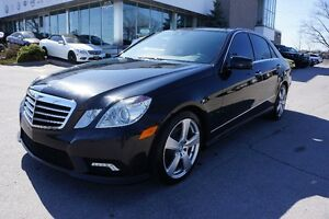 2011 BENZ E 350 4MATIC|No ACCIDENT|ONE OWNER