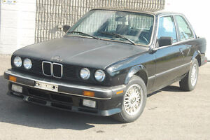 V BMW e30 325i 2dr Coupe M20 5 speed  Dec 1986 Parts Only 232036