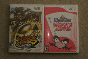 Wii Games: WarioWare Smooth Moves and Mario Strikers Charged