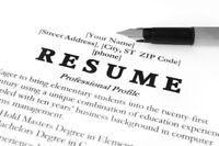 Need a Resume  $29.99