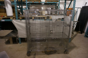 Metro Heavy Duty Stainless Steel Commercial Rolling Cage