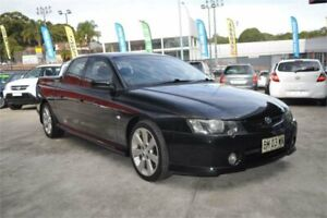 2004 Holden Crewman VY II SS Black 6 Speed Manual Crew Cab Utility