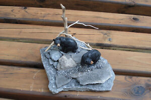 Hand Crafted Bears 3-D Table Sculpture Kingston Kingston Area image 4