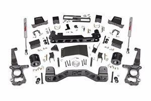 5IN FORD SUSPENSION LIFT KIT (15-17 F-150 4WD) Rough Country NEW