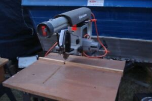 black and decker radial arm saw