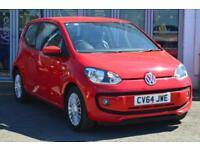2014 VOLKSWAGEN UP 1.0 High Up 3dr