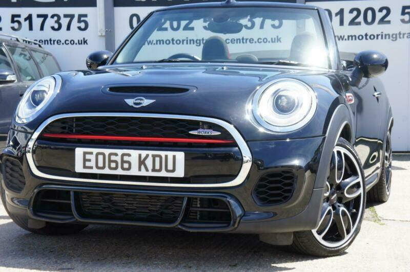 Mini Cabriolet 20 John Cooper Works 231bhp Tech Pk Ss