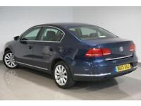 2013 Blue Volkswagen Passat 1.6TDI BlueMotion Tech (s/s) Highline -DEPOSIT TAKEN