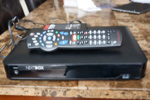 TV Box with a universal remote control
