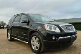 FRESH IMPORT LHD GMC ACADIA SLT AUTOMATIC 7 SEATER EXPLORER BLACK