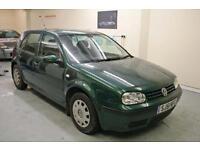 2002 Volkswagen Golf 1.9 SDI Diesel One Full Year Mot Low Mileage A1 Condition