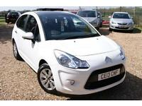 2013 13 CITROEN C3 1.2 VTR PLUS 5D 82 BHP FCSH, 1 OWNER, LOW MILEAGE, BLUETOOTH!