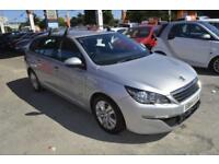 Peugeot 308 SW 1.6HDi ( 92bhp ) 2015MY Active SAT NAV ONE OWNER FROM NEW