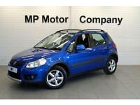 2007/57-SUZUKI SX4 1.6 GLX 5DR HATCH, 1 OWNER, 97-000M SH, BLUE,