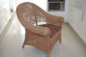 strong wicker chair Cambridge Kitchener Area image 1