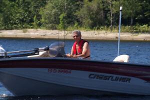 Bateau de pêche et plaisirs