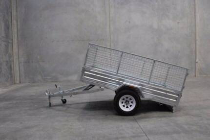 OCT Special! Hot Dipped Gal 8x5 Trailer Full Package Deal! Meadowbrook Logan Area Preview
