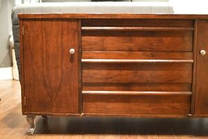 Refinished solid wood sideboard